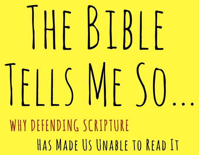 The Bible Tells Me So: A Book Review