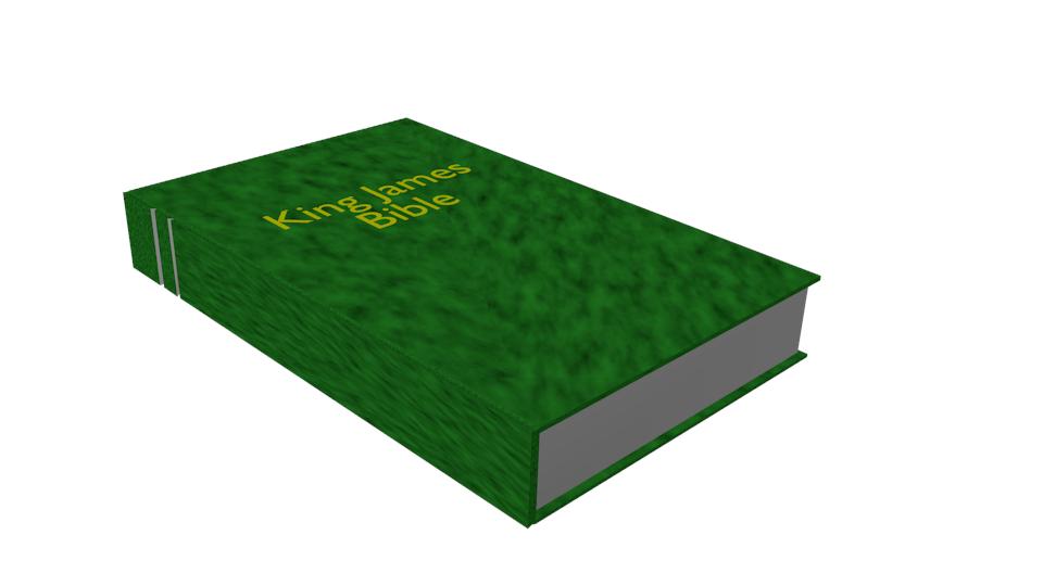 A Notch on a Bible